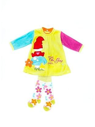 Dudu Vestido Y Medias Valmy (Multicolor)