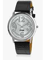 DD8076WT01 Black/White Analog Watch Dvine