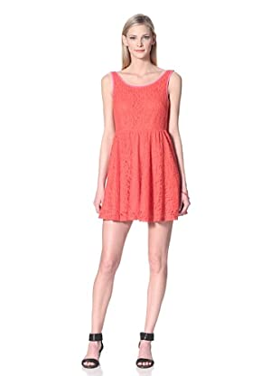 Junk Dresses Women's Ruby Lace Dress (Red)