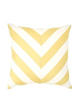 Image by Charlie Kenya Decorative Pillow, Spectra Yellow/Off-White, 20