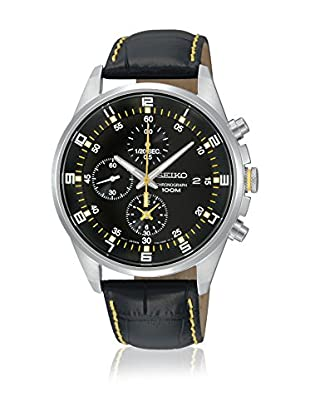 Seiko Reloj de cuarzo SNDC89P2 Negro 40  mm