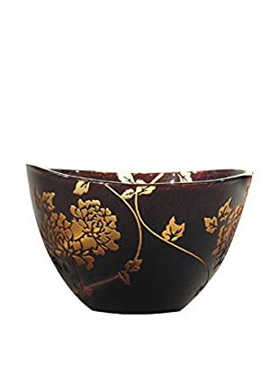 Dale Tiffany Preston Bowl, Amber