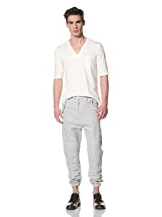 Camo Men's S. Paolo Cervo Patch Trousers (Gray)
