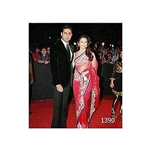 Fabiona Aishwarya Rai Saree - Pink