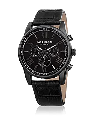 Akribos XXIV Reloj con movimiento cuarzo suizo Man AK911BK 41 mm