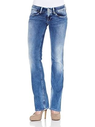 Pepe Jeans London Pantalón Vaquero Grace (Azul)