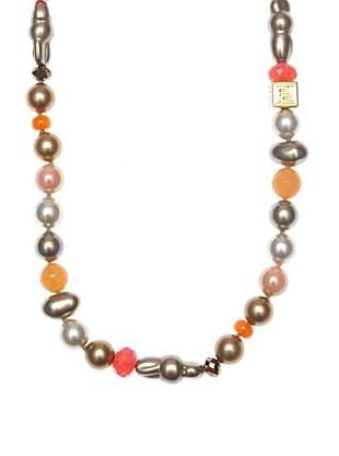 Pertegaz Collar Perlas de Mallorca Naranja