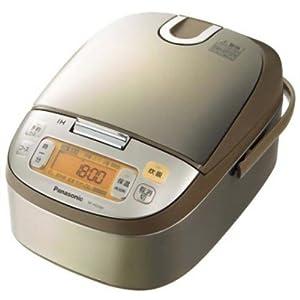 【クリックで詳細表示】Panasonic IHジャー炊飯器 ノーブルシャンパン SR-HG154-N: ホーム&キッチン
