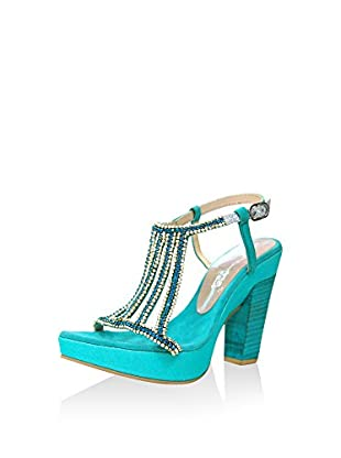 MARTINA BLUE Sandalias de tacón 16-5401TQ
