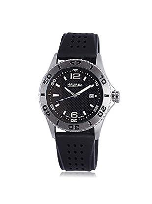 Haurex Men's 3A500UNN Factor Black Rubber Watch
