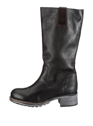 Buffalo London ES 11036 TAMPA 123418 - Botas de cuero para mujer (Negro)