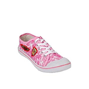Pink Casual Sneakers