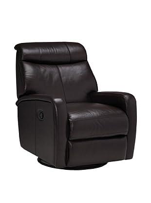 Onyx Seattle Top Grain Leather Armchair, Molasses