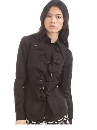 Desigual Blusa Button (Negro)