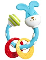 Tiny Love Smarts Teether Rattle, Bunny