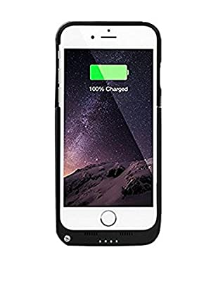imperii Funda Con Batería 4000Mah iPhone 6 Plus Negro