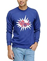 Yepme Men's Poly Cotton SweatShirt (YPMSWEAT0086_Red_XX-Large)