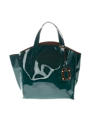 Elysa Tote-Bag (Blaugrün)