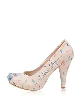Dogo High Heel I Never Sleep (Creme)