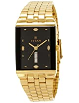 Titan Karishma Analog Black Dial Men's Watch - NC1918YM14