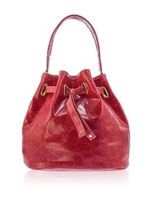 Lisa Minardi Bolso saco  Rojo