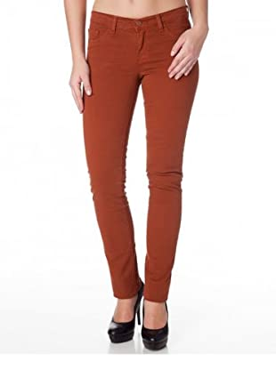 J Brand Hose Japanese Twill Low Rise Pencil Leg (Braun)