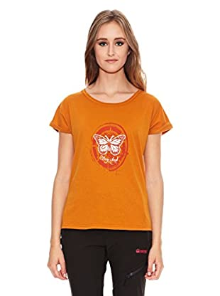 Berg Outdoor Camiseta Manga Corta Wm (Naranja)