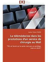 La Telemedecine Dans Les Prestations D''Un Service de Chirurgie Au Mali