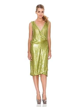 Monoplaza Vestido Lentejuelas (Verde)
