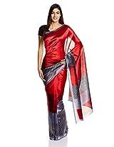 Boondh Saree With Blouse Piece