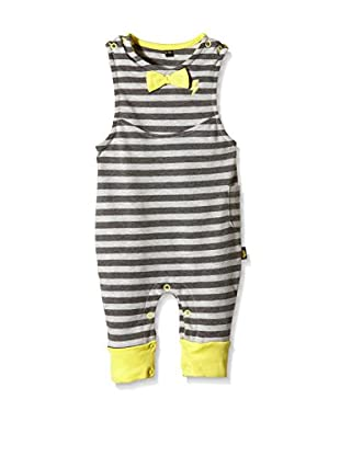 Rockabye Originals Mono Grey Stripe Dungerees