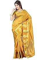 Mimosa Tassar Silk Saree Gold Colour(3123-2061-TUSS-GOLD)