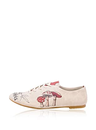 Dogo Oxford Follow The White Rabbit.. (Creme)
