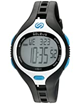 Soleus 'Dash' Quartz Plastic Running Watch, Color:Black (Model: SR018-045)