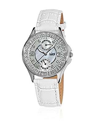 Burgi Uhr mit Japanischem Quarzuhrwerk BUR044WT 36 mm