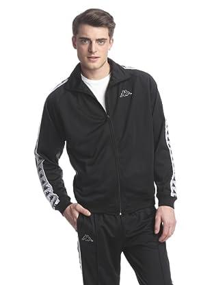 Kappa Men's Banda Anniston Track Jacket (Black)