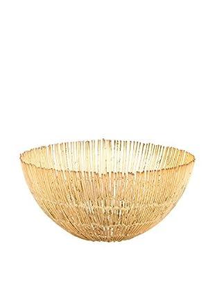 Shiraleah Small Ravi Bowl, Gold