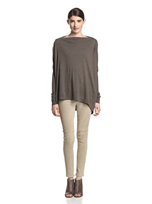 Rick Owens Lilies Women's Oversize Top (Dark Dust)