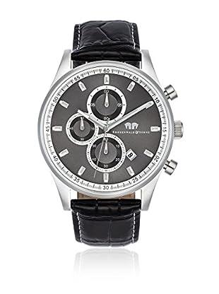 Rhodenwald & Söhne Reloj con movimiento cuarzo japonés 10010101 Negro 43  mm