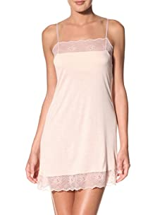 Eberjey Women's Sabrina Chemise with Built-In Bra (Dusty Pink)