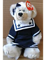 Ty Attic Treasure Collection Breezy The Girl Bear Stuffed Animal Plush Toy