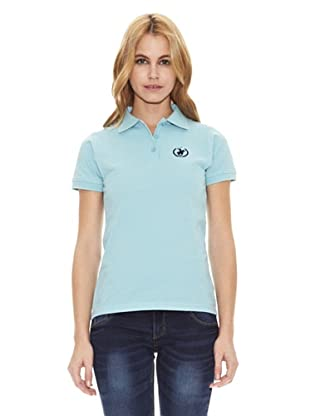 Polo Club Polo Manga Corta Custom Fit Small Horse (Azul Celeste)