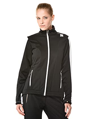 Sportful Chaqueta Crosscountry St. Moritz (Negro / Blanco)