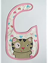 Carter's Mouse with heart Baby Bib (Unisex)