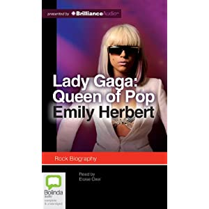Lady Gaga: Queen of Pop [Audiobook] [CD]