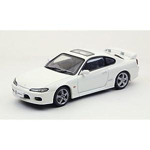 【クリックで詳細表示】EBBRO 1/43 NISSAN SILVIA spec-R S15 1999 WHITE