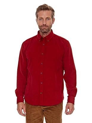 Cortefiel Camisa Pana (Rojo)