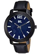 MTV Analog Blue Dial Men's Watch - M-3004