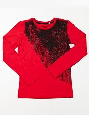 Gsus Kids Shirt Nikki (Rot/Schwarz)