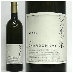 [Grace Wine]グレイス・ワイン、 シャルドネ 2007 (白) 750ml